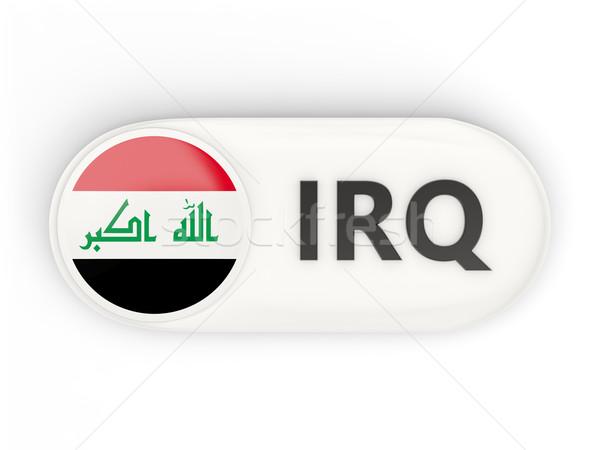 ícone bandeira Iraque iso código país Foto stock © MikhailMishchenko