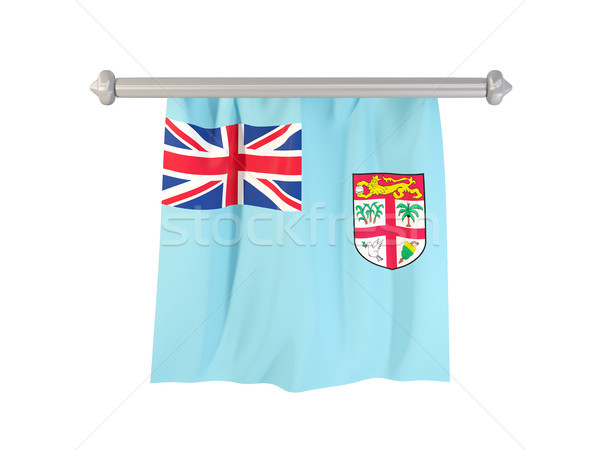 Pennant with flag of fiji Stock photo © MikhailMishchenko