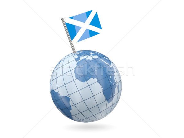 Globe with flag of scotland Stock photo © MikhailMishchenko