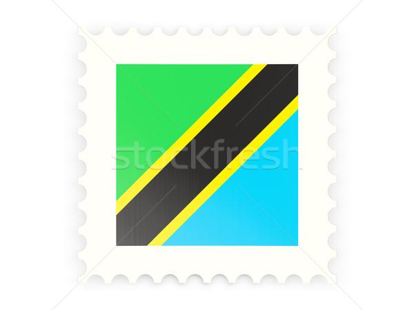 ícone Tanzânia isolado branco assinar Foto stock © MikhailMishchenko