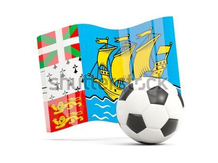 Zászló Fidzsi-szigetek futball csapat vidék Stock fotó © MikhailMishchenko