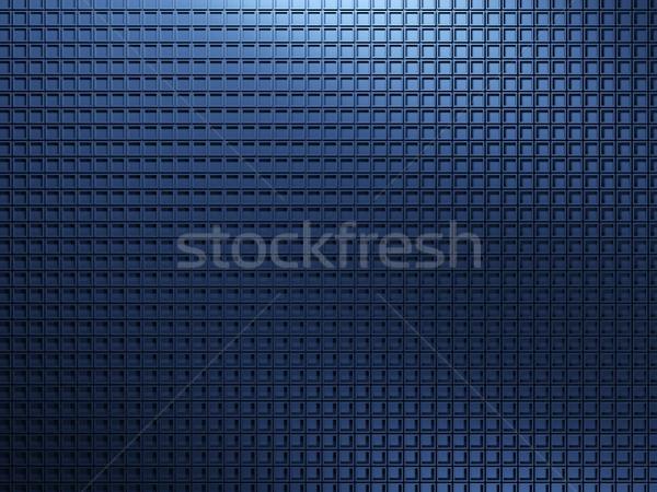 Niebieski metal tekstury tle Język przemysłu Zdjęcia stock © MikhailMishchenko