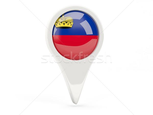 Round flag icon of liechtenstein Stock photo © MikhailMishchenko
