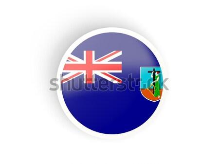 Round icon of flag of cayman islands Stock photo © MikhailMishchenko