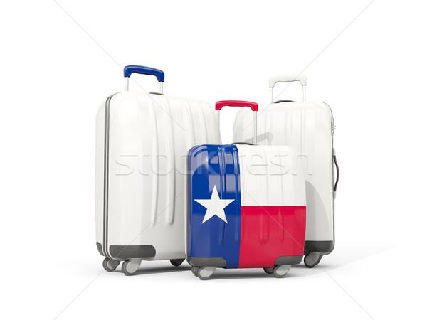 Csomagok zászló Texas három szatyrok Egyesült Államok Stock fotó © MikhailMishchenko