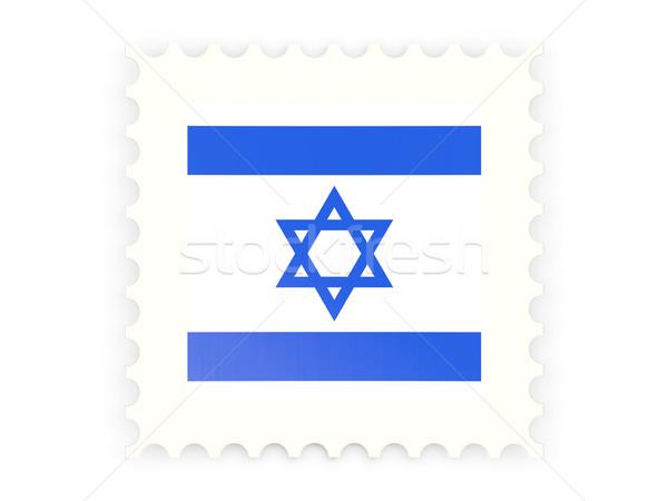 Ikon İsrail yalıtılmış beyaz imzalamak Stok fotoğraf © MikhailMishchenko