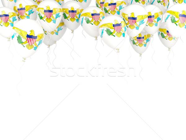 шаре кадр флаг США Виргинские о-ва изолированный Сток-фото © MikhailMishchenko