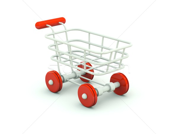 Shopping cart Stock photo © MikhailMishchenko