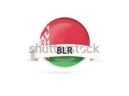 Ikon zászló Türkmenisztán izolált fehér utazás Stock fotó © MikhailMishchenko