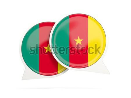 икона флаг Камерун Мир знак Сток-фото © MikhailMishchenko