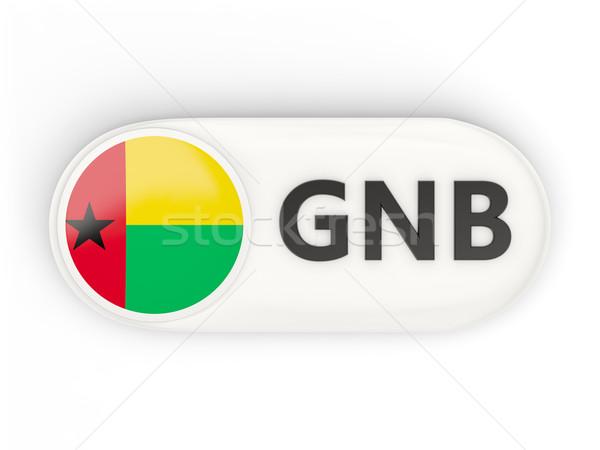 Round icon with flag of guinea bissau Stock photo © MikhailMishchenko