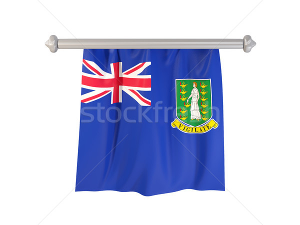 Pennant with flag of virgin islands british Stock photo © MikhailMishchenko