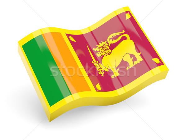 3d flag of sri lanka Stock photo © MikhailMishchenko