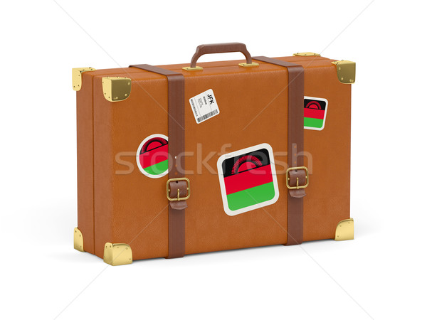 Suitcase with flag of malawi Stock photo © MikhailMishchenko