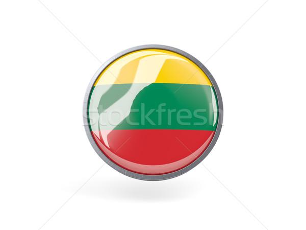 икона флаг Литва металл кадр путешествия Сток-фото © MikhailMishchenko