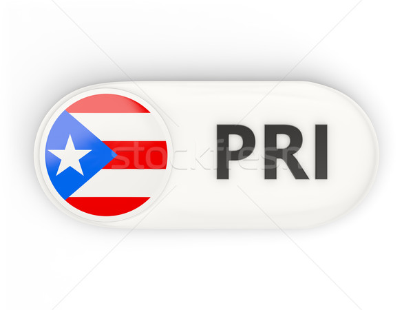 Icon vlag Puerto Rico iso code teken Stockfoto © MikhailMishchenko