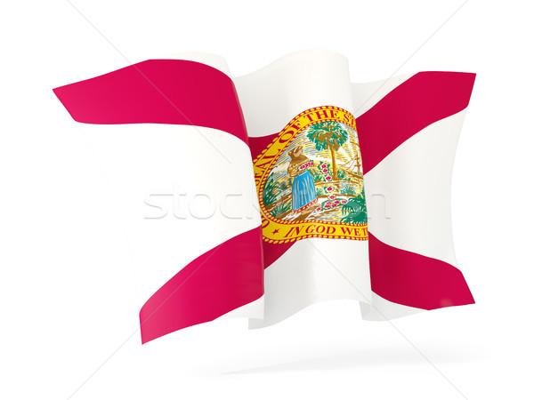 Florida vlag icon Verenigde Staten Stockfoto © MikhailMishchenko