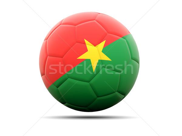Football with flag of burkina faso Stock photo © MikhailMishchenko