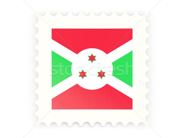 ícone Burundi isolado branco e-mail Foto stock © MikhailMishchenko