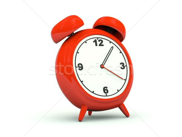 Clock icon Stock photo © MikhailMishchenko