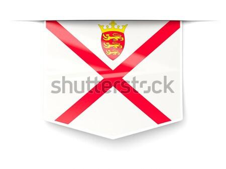 Flag label of jersey Stock photo © MikhailMishchenko