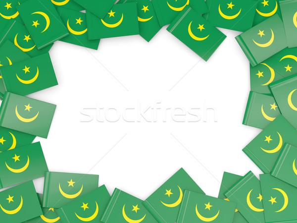 Frame with flag of mauritania Stock photo © MikhailMishchenko