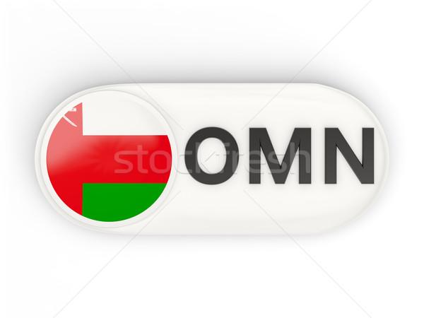 Ikon zászló Omán iso kód vidék Stock fotó © MikhailMishchenko