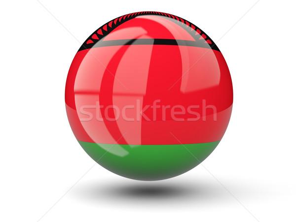 Icon vlag Malawi geïsoleerd witte reizen Stockfoto © MikhailMishchenko