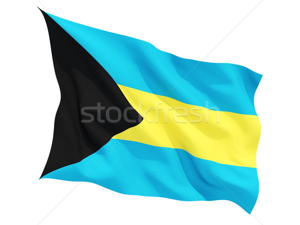 Waving flag of bahamas Stock photo © MikhailMishchenko