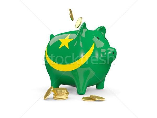 脂肪 貯金 モーリタニア お金 孤立した 白 ストックフォト © MikhailMishchenko
