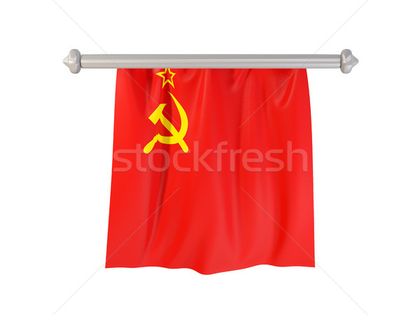 Pennant with flag of ussr Stock photo © MikhailMishchenko