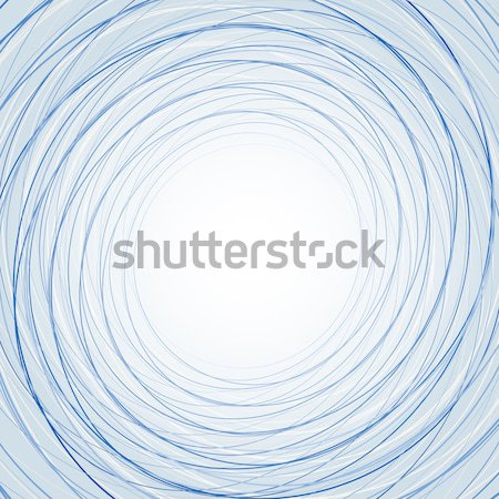 Light Blue Abstract Scribble Thin Line Vector Background Stock photo © mikhailmorosin
