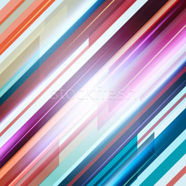 Abstrato em linha reta linhas eps10 textura fundo Foto stock © mikhailmorosin