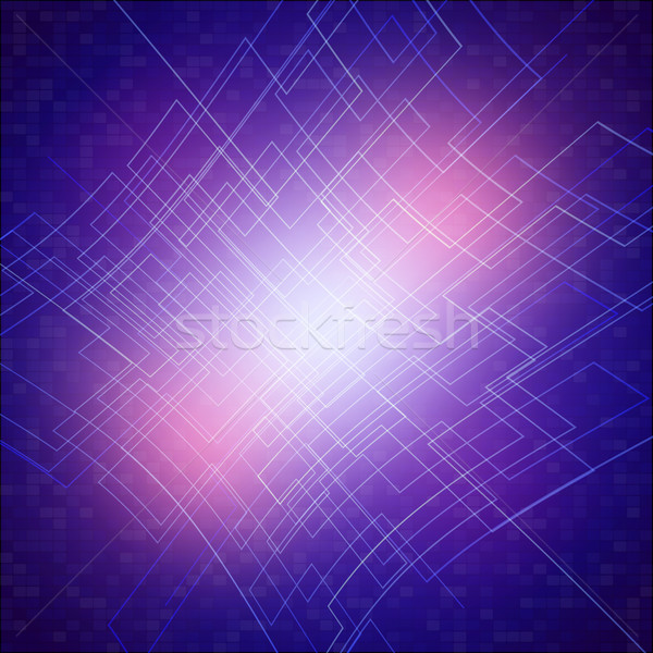 Circuit Board Texture Abstract Vector Background Stock photo © mikhailmorosin