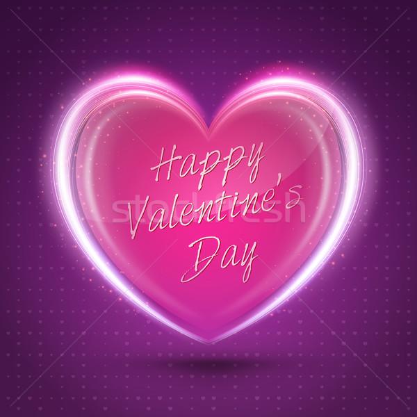Stock fotó: Valentin · nap · absztrakt · romantikus · üdvözlet · kártyák · terv