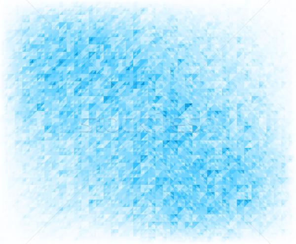 Kék absztrakt technológia háttér háló tapéta Stock fotó © mikhailmorosin