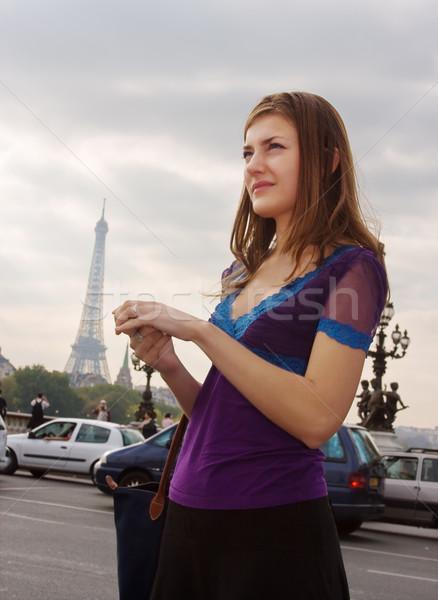 Walking in Paris Stock photo © MikLav