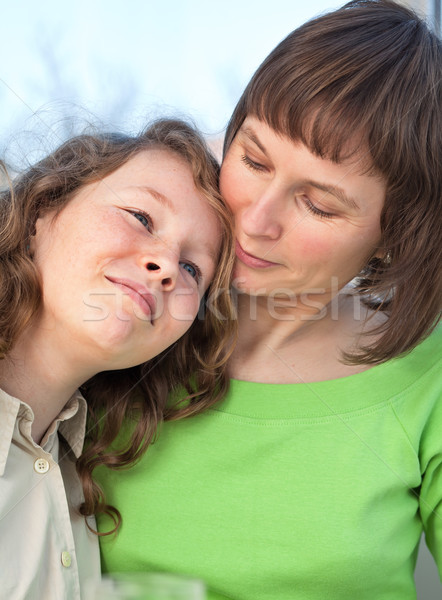 Stock photo: Mother and child