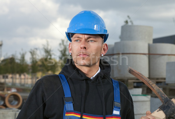 Construction worker Stock photo © MikLav