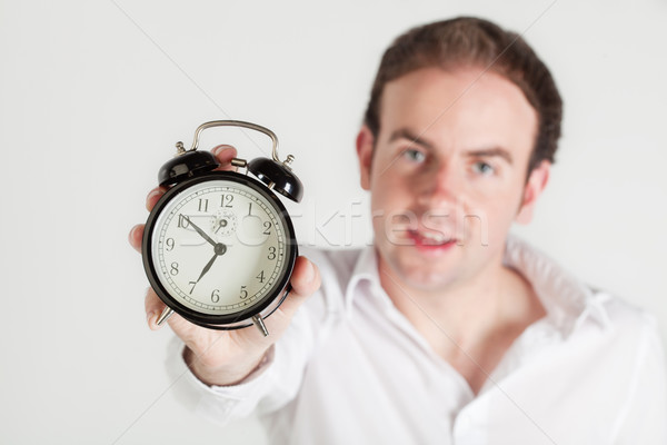 Time to wake up! Stock photo © MikLav