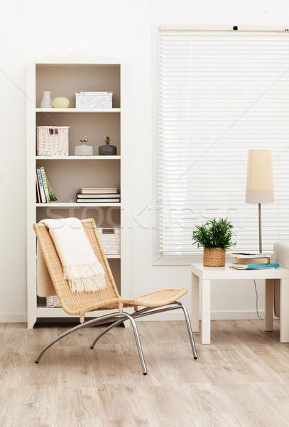 リビングルーム 現代の ホーム ルーム 椅子 工場 ストックフォト © MikLav