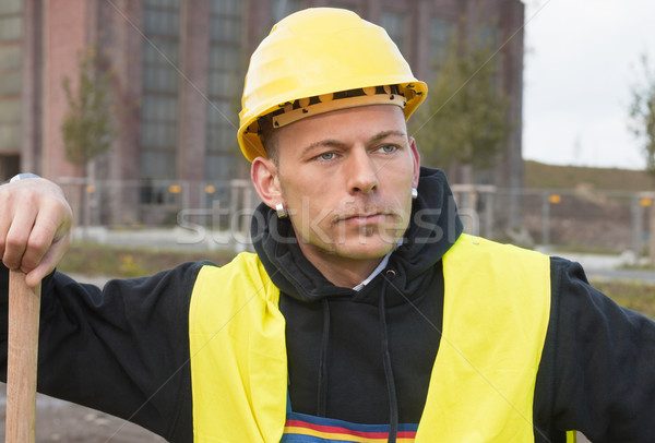 Construction worker Stock photo © MikLav