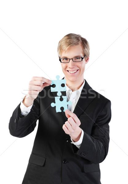 Puzzle Stock photo © MikLav