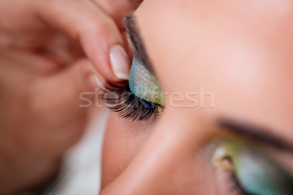 False Eyelashes Stock photo © MilanMarkovic78