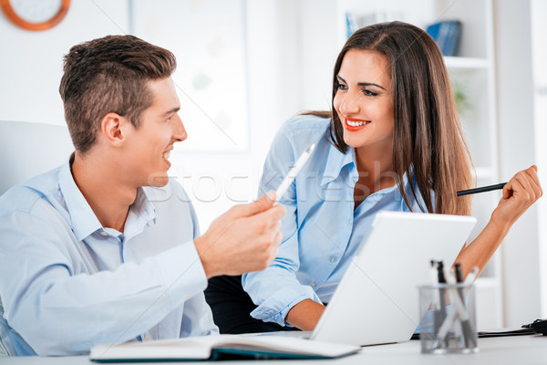 Two Successful Business Partners Stock photo © MilanMarkovic78