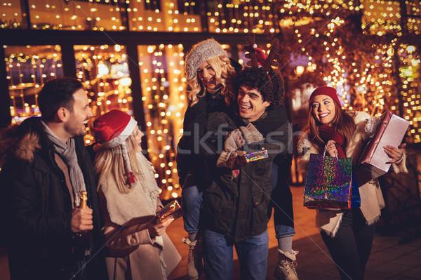 ストックフォト: クリスマス · 1泊 · 3 · 小さな