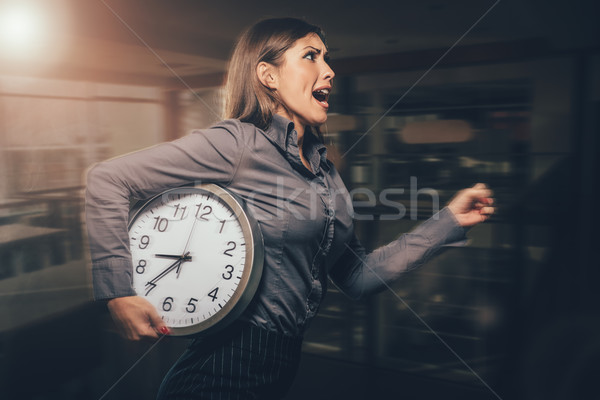 I Am Late! Stock photo © MilanMarkovic78