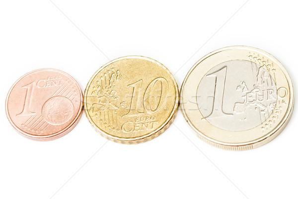 ユーロ コイン 異なる 白 金融 市場 ストックフォト © MilanMarkovic78