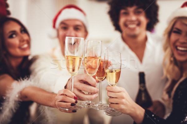 Happy New Year! Stock photo © MilanMarkovic78