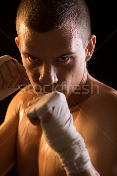 Fighter Stock photo © MilanMarkovic78